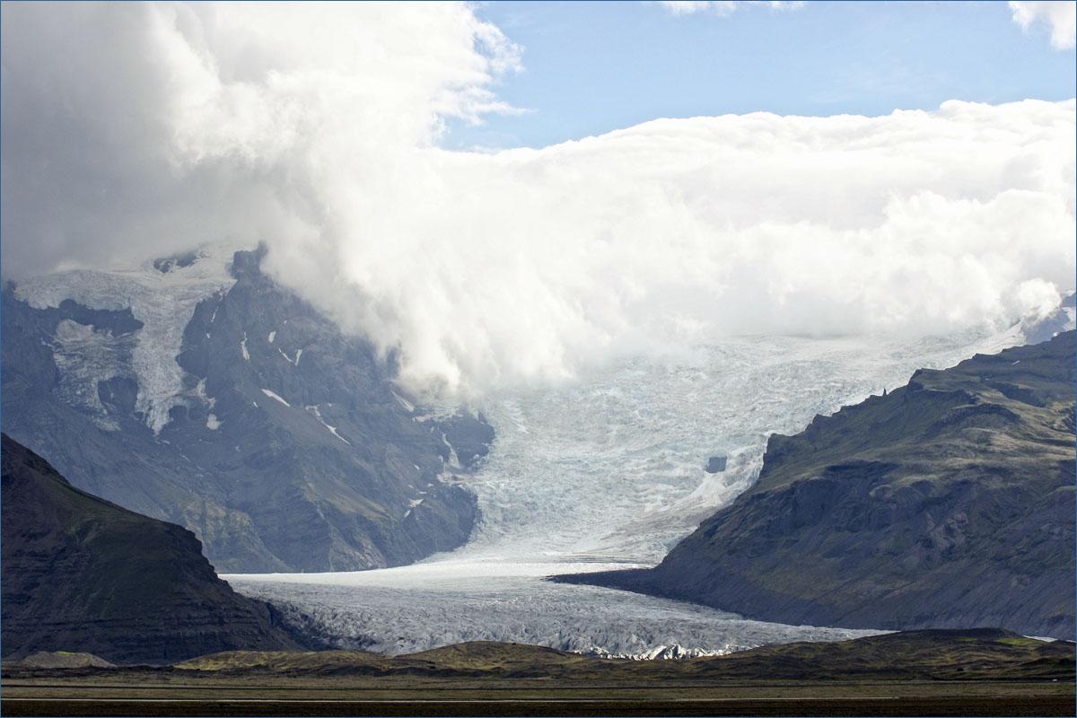 De Vatnaj 246 Kull Ijsland
